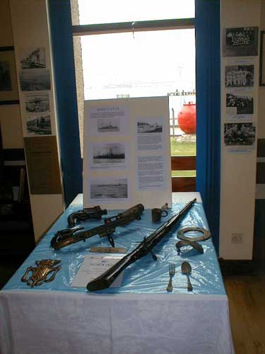 Weapons from the Natal wreck