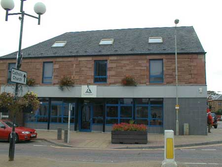 Offices of Ross and Cromarty Enterprise, High Street.