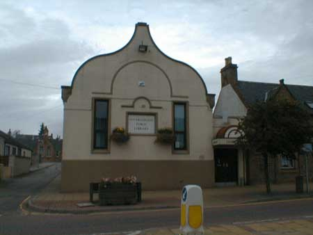 Invergordon Public Library, High Street.