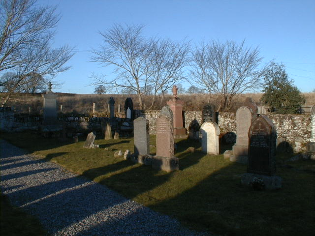 Burial ground at Redcastle, adjacent to Killearnan Church of Scotland.