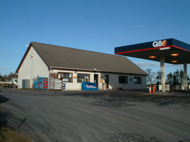 Tore filling station and cafe