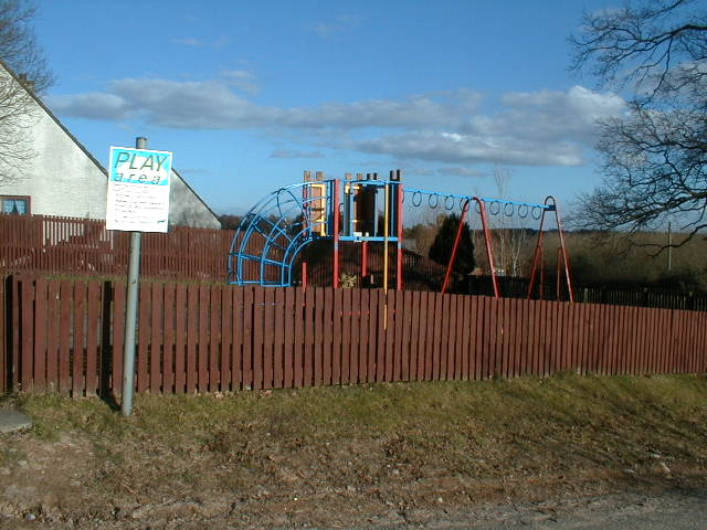 Play area at Tore village