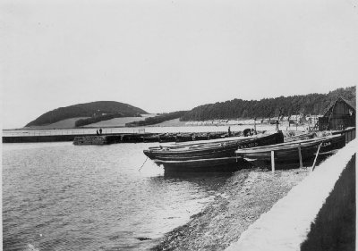 """Scaffie"" boats in Avoch harbour"