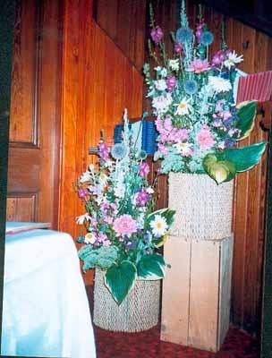 Part of Centenary Celebrations: a Flower Festival