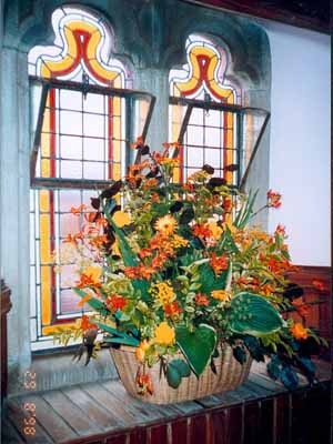 Part of Centenary Celebrations: a Flower Festival