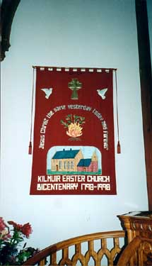 Banner produced by Kilmuir and Logie Easter Guild