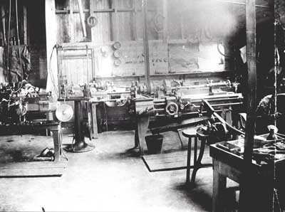 Machine Shop at Balnagown Castle