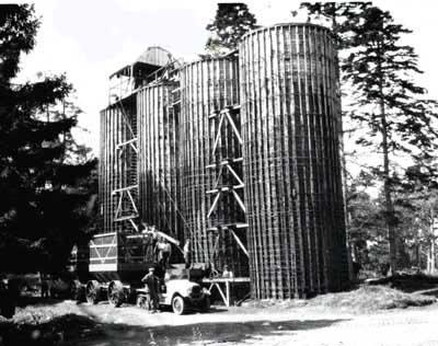 Storing (silo at Rhives)