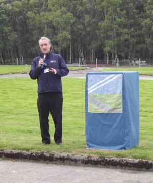 The Director General of the Trust, Kenneth Bannerman