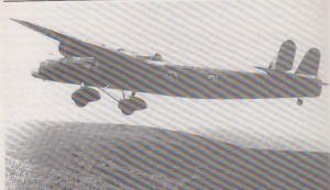 A Harrow gunnery training aircraft operating from Evanton.