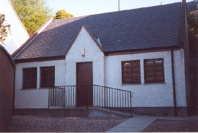 Congregational Church hall.