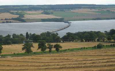 The Cromarty Firth and Bridge from rear of Ardullie Farm cottages - photo 1