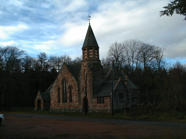The former Knockbain Free Church, now a residential dwelling.