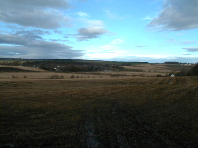The view towards Munlochy Village