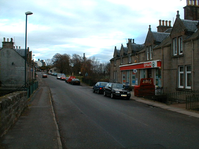 The Main Street in Munlochy