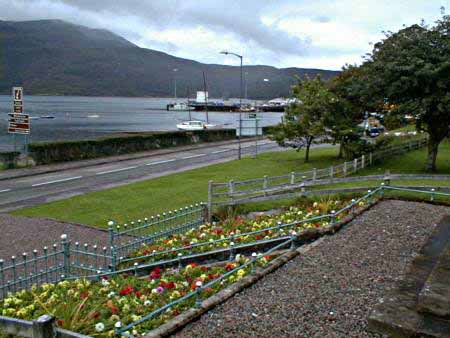 Ullapool harbour and Loch Broom