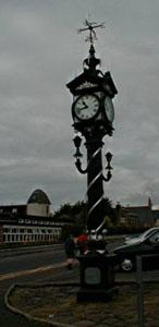 ULLAPOOL VILLAGE CLOCK