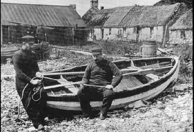 Fishermen at Ardaneaskan