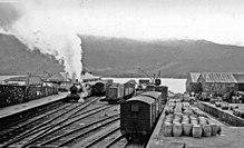 Kyle of Lochalsh station in 1939