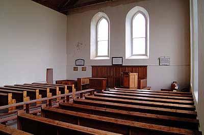 Interior of East Church