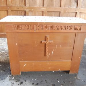 The former communion table