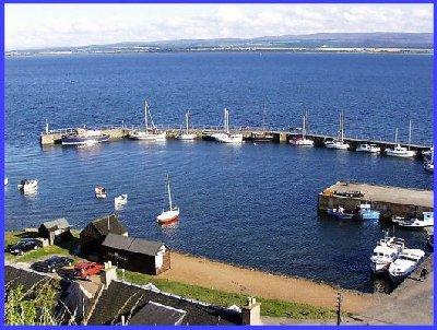Avoch harbour