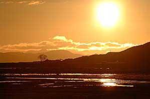 Sunset on Loch Kishorn