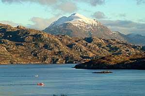 Loch Shieldaig and East Torridon