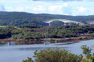 The Skye Bridge from Erbusaig