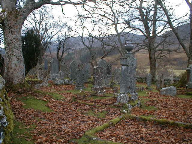 Milton burial ground, Strathconon.