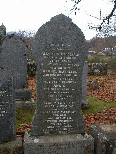 Strathconon cemetery