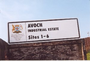 Industrial Estate sign