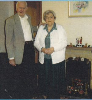 Margaret (Chisholm) Macleod and her brother Donnie