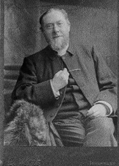 Rev. Roderick Mackenzie in his later years