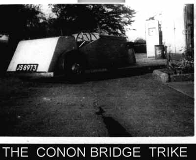 The Conon Bridge trike
