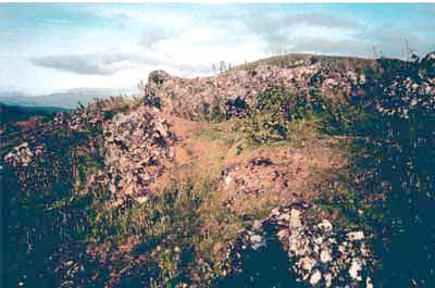 Knockfarrel vitrified fort