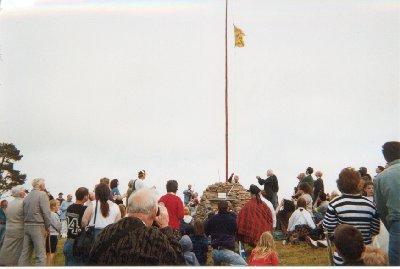 Ormonde Hill re-enactment