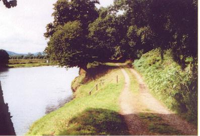 Chapel road (by River Conon)