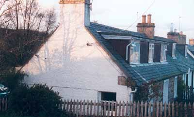 Peartree Cottage, built in 1824, the oldest house in the village.