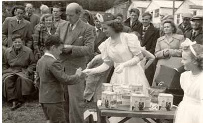 Celebration of 1953 Coronation of Queen Elizabeth II