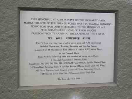 Alness Point Memorial plaque p2.jpg