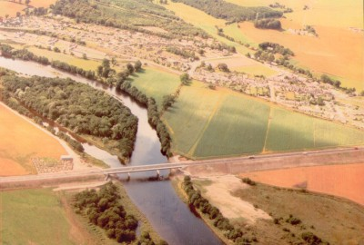 Aerial view of Maryburgh