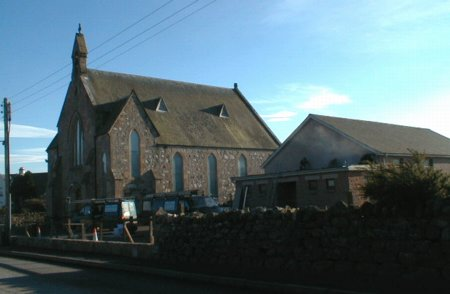 Free Church of Scotland, and hall, Muir of Ord.