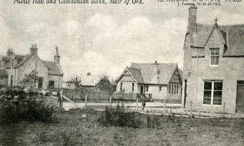Public Hall and Caledonian Bank, Muir of Ord