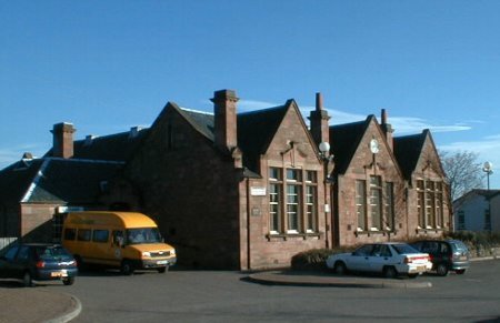 The former Tarradale (Muir of Ord) Primary School.