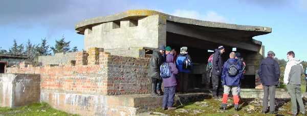 Gun emplacement (2008).