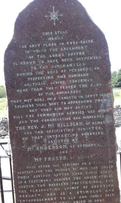 Covenanters Stone