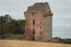 Castle Craig on the northern coast of the Black Isle overlooking the Cromarty Firth.