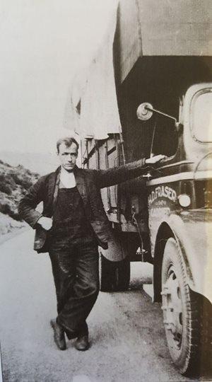 Hugh Fraser, founder of the Black Isle haulage firm of H D Fraser.