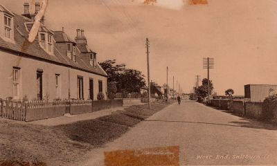 Saltburn - photo 03 Saltburn West End.  Date 1950s?